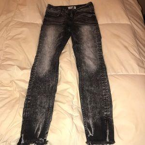 Acid wash Zara jeans
